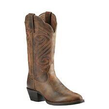 Ariat® Ladies Round Up R Toe Dark Toffee Western Boots 10018619