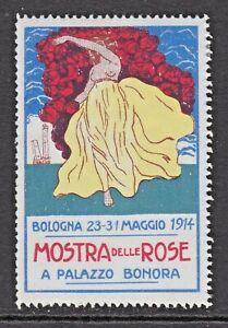 MOSTRA DELLE ROSE - 1914 - BOLOGNA -(86)- CINDERELLAS