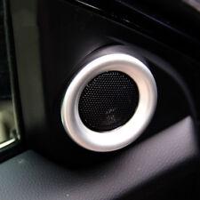 For Honda Civic 2016 - A Pillar Post Interior Stereo Speaker Chrome Cover Trim