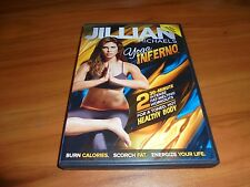 Jillian Michaels: Yoga Inferno (DVD, 2013) Used 2 30 Minute Workouts