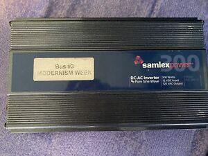 Samlex PST-300-12 Power Inverter - 12v-110v converter