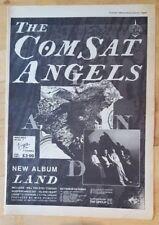 Comsat Angels Land tour   1983 press advert Full page 39 x 28 cm poster