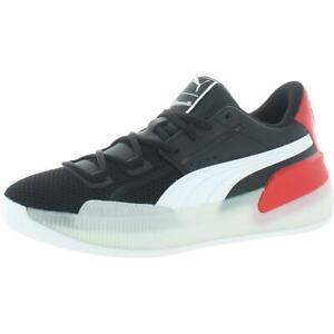 Puma Mens Clyde Hardwood WOG Black Basketball Shoes 7.5 Medium (D) BHFO 3732