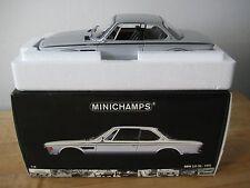 1:18 BMW 3.0 CSL 1972 Minichamps Diecast in Silver. BRAND NEW- LAST ONE!