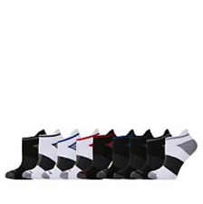 Copper Fit Fresh Touch Men's 9-pack Ankle Socks in Black/White (HSN 649266)