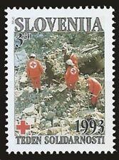 Slovenia 1993 MNH 1v, Earthquake, Natural Disaster, Red Cross