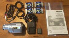 Panasonic NV GS80 - 32x Optical Zoom - Mini DV, incl. 4x DVC im Zubehörpaket