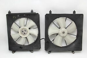 Honda Element Radiator/Condenser Cooling Fan w/Motor Shroud Set OEM 07-11 A930
