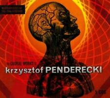 The Choral Works Of KRZYSZTOF PENDERECKI // 5 CD Box