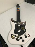 Red Octane Wireless White Guitar Hero Controller Playstation 2 PS2 *NO DONGLE