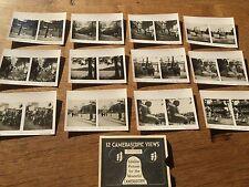12 Camerascopic Views Photos Tokyo China Chinese Social History Culture