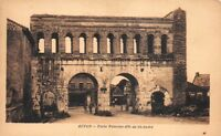 AUTUN - porte Romaine dite de St-André