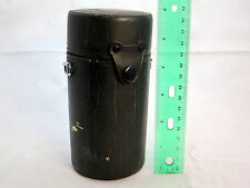 "Olympus 75~150mm f4.0 OM Hard Lens Case 6"" tall x 2 3/4""w Made in Japan S2102012"