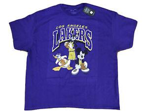 Disney NBA Mickey Mouse Los Angeles Lakers Shirt XXL 2020 Finals Champions James