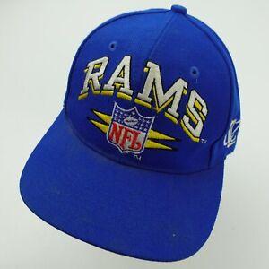 St Louis Rams Logo Athletic Pro Line Ball Cap Hat Snapback Baseball