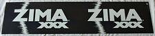 11.5x48 Lg Zima XXX Killians Irish Red Beer Pub Bar Advertisement Store Sign