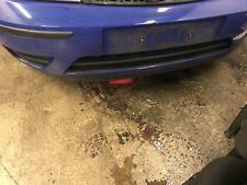 Ford focus front bumper capri blue moulding fog blanks st 2001 - 2004 mk 1 - 2