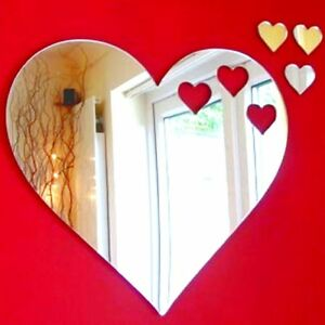 Hearts out of Heart Acrylic Mirror (Several Sizes Available)