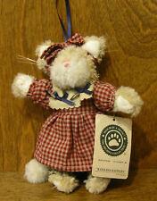 "Boyds Plush Ornaments #56274 Katalina Kafinata, 5.5"" New From Retail Store Cat"