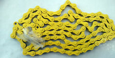 FIXED GEAR SINGLE SPEED YELLOW CHAIN 1/2 X 1/8 BMX