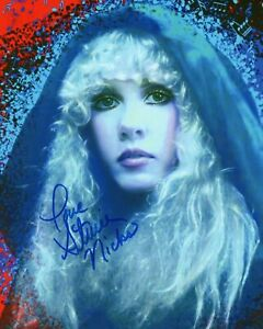 STEVIE NICKS AUTOGRAPHED SIGNED A4 PP POSTER PHOTO PRINT 3