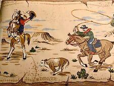 York Cowboy Western Horse Themed Wallpaper Boarder #Kz4269B