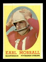 1958 Topps #57 Earl Morrall  EXMT X1458991