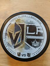 VEGAS GOLDEN KNIGHTS vs LOS ANGELES KINGS Limited Matchup Puck  2/27/18