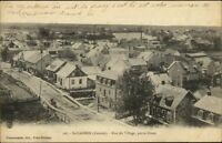 St. Casimir Quebec Rue du Village c1910 Postcard