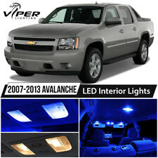 2007-2013 Chevy Avalanche Blue LED Interior Lights Package Kit