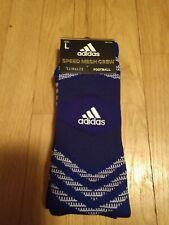 Brand New! Adidas Speed Mesh Crew, Football, Adult L, Royal, Aeroready Socks!