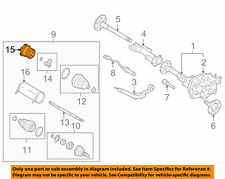 GM OEM-FRONT TRIPOT HOUSING 15295246 #15 on Diagram Only-Genuine OE Factory Orig