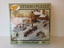 Downhill Fun Studio Puzzle 500 Piece Jigsaw  Bits and Pieces New 13+ #48319 New
