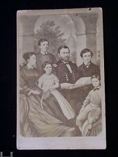Antique CDV Grant and Family