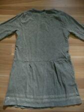 raffiniertes Kleid Shirtkleid Grau 122/128 Vertbaudet schlicht aber edel