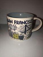 Starbucks Mug Been There Series 2018 San Francisco Coffee Mug 14 Oz