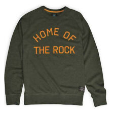 f89595dc2fc Fourstar Skateboard sample Home of the Rock crew sweatshirt Green Clearance