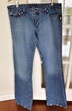 Bettina Liano Ladies Designer Jeans -  Navy Denim  Straight Leg Sz32 New
