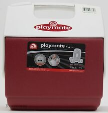 Igloo Playmate Red Cooler 9 Can 7- Qt Great for Camping Travel Outdoors NWT