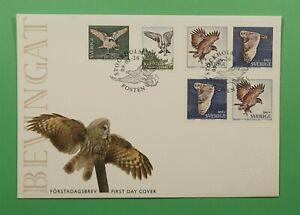 DR WHO 2009 SWEDEN FDC BIRDS  C241705