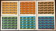 United Nations 1999 World Heritage Sites,Australia Issue 6 Sheets of 20 MNH