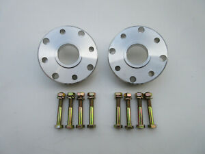 "Suzuki Samurai 1"" pair driveshaft driveline spacers 86-89 plain aluminum"