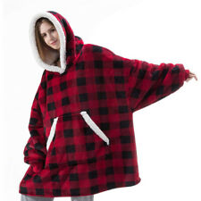Wearable Cashmere TV Lazy Blanket Ourdoor Men Women Home Leisure Plush Sweater