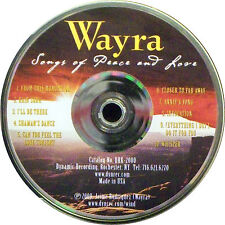 Songs of Peace and Love by Wayra (CD, 2000 Jaime Rodriquez)