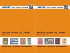 Michel Britische Kolonien und Gebiete in zwei Bänden