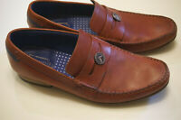 Ted Baker Vitric 4 loafer shoes US 8 EU 41 red slip ons