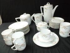 Kaffee/ Teeservice für 7 Hutschenreuther Selb - Jugendstil um 1910 Art Deco