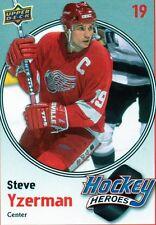 Steve Yzerman 2010/11 Upper Deck Hockey Heroes #HH2