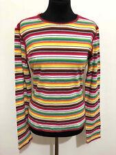 Byblos T-Shirt Women's Cotton Stripes Cotton Woman T-Shirt SZ.M - 44