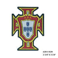 Portugal National Football Team Logo Embroidery Iron On Patch Applique Badge New